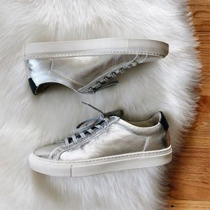 Woman by Common Projects Achilles Silver Sneaker